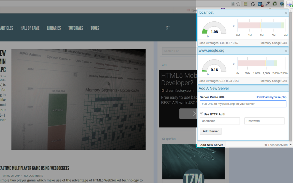 ServerPulse Screenshot