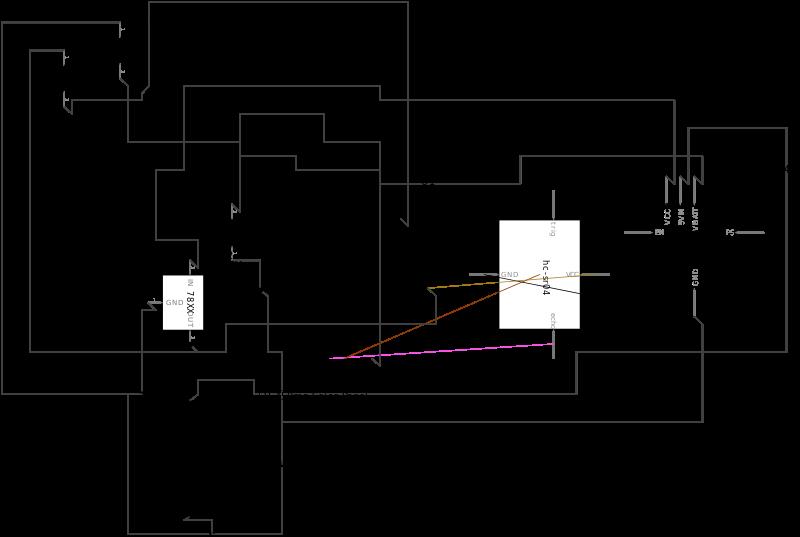 Sensor Module Connections Diagram