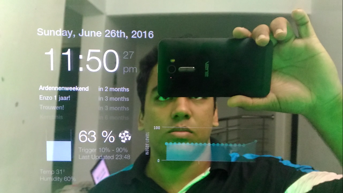 MagicMirror Augmented Home Automation